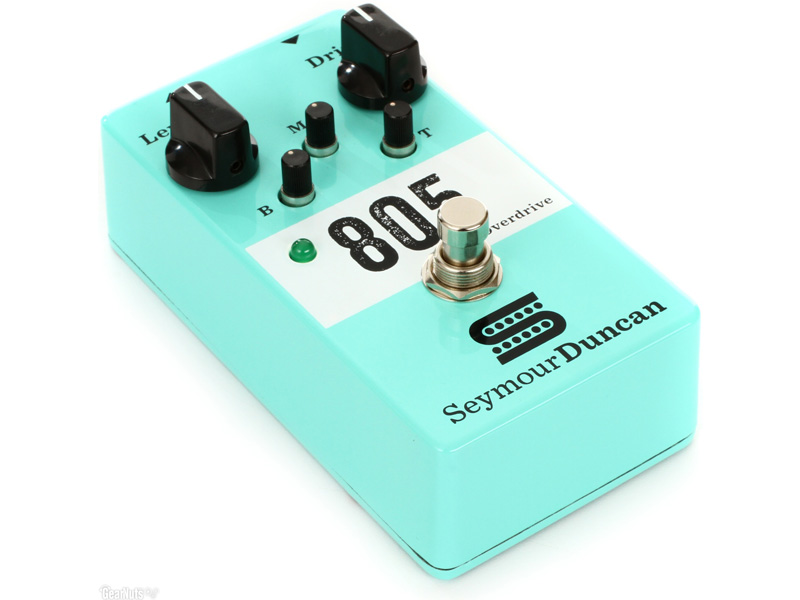 Seymour Duncan 805 Overdrive Pedal | Overdrive, Distortion, Fuzz, Boost - 1