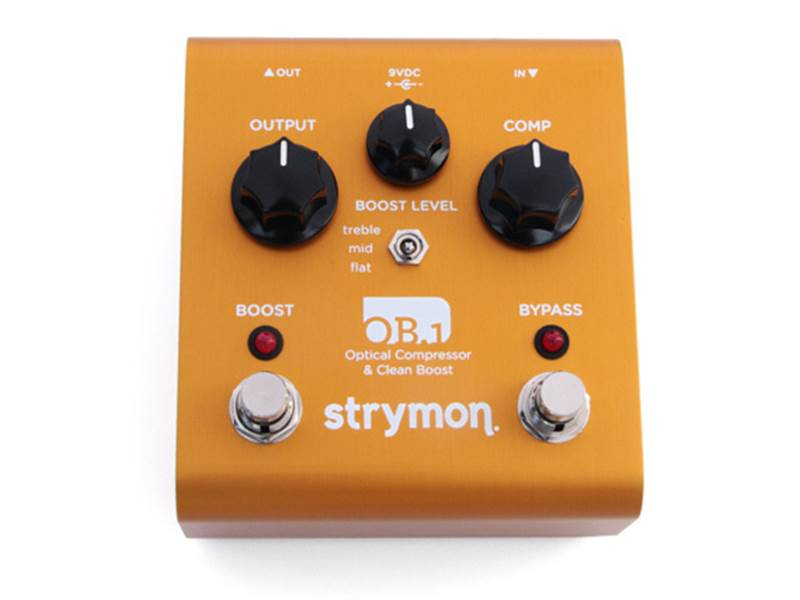 Strymon OB1 Clean Boost, Compressor Bass | Compressor, Sustainer - 1