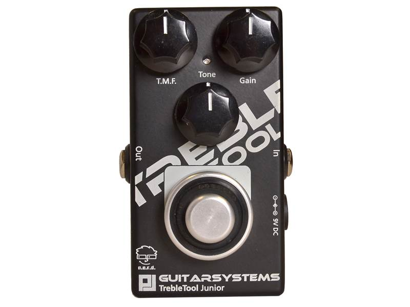 GuitarSystems TrebleTool Junior - Treble Booster | Overdrive, Distortion, Fuzz, Boost - 1