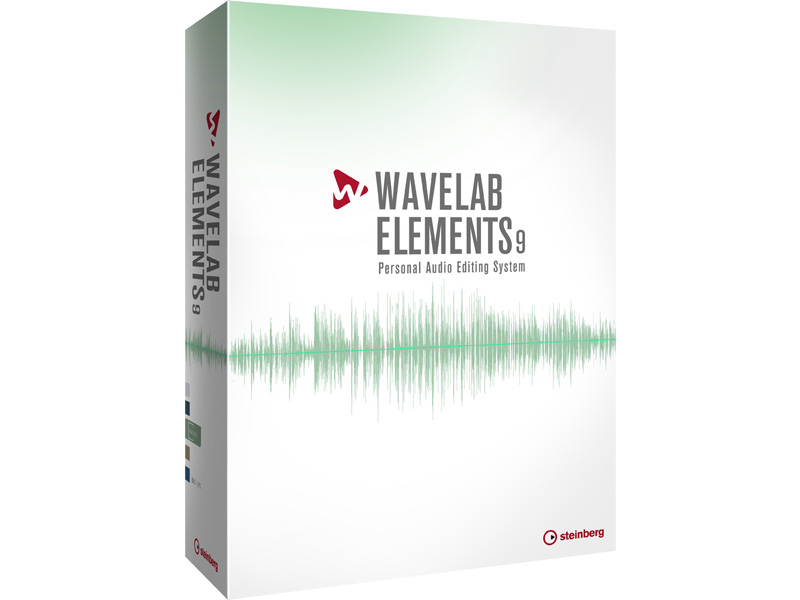 Steinberg WaveLab Elements 9 | Software - 1
