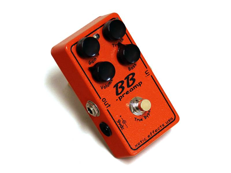 Xotic BB PREAMP | Overdrive, Distortion, Fuzz, Boost - 1