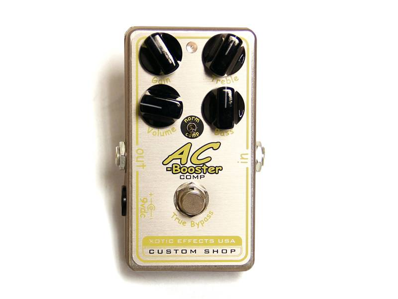 Xotic AC-Comp Custom Shop Comp Compressor Overdrive | Overdrive, Distortion, Fuzz, Boost - 1