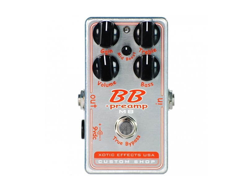 Xotic BB Preamp-Comp Custom Shop Boost/Compressor/Distortion | Overdrive, Distortion, Fuzz, Boost - 1