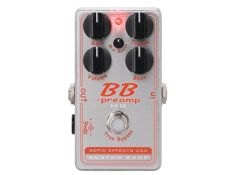 Xotic BB-MB PREAMP Custom Shop booster/distortion | Overdrive, Distortion, Fuzz, Boost - 1