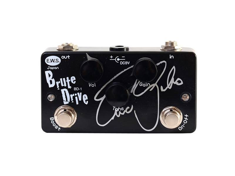 Xotic EWS Brute Drive Eric Gales Signature | Overdrive, Distortion, Fuzz, Boost - 1