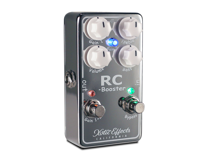 Xotic RC Booster V2 | Overdrive, Distortion, Fuzz, Boost - 1