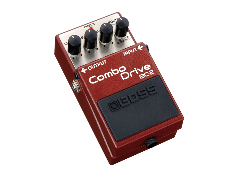 BOSS BC 2 | Overdrive, Distortion, Fuzz, Boost - 1