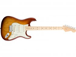 FENDER American Deluxe Stratocaster Ash MN TBS