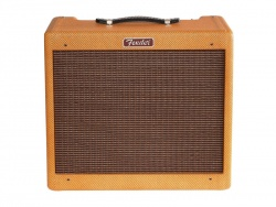 FENDER Blues Junior LTD C12-N Lacquered Tweed (POŠKOZENÉ) | Celolampová komba