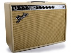 FENDER 65 Deluxe Reverb Blonde/White