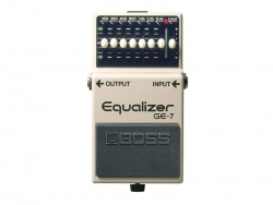 BOSS GE-7 BAND GRAPHIC EQUALIZER | Ekvalizery