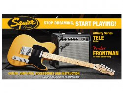 Fender Squier Affinity Strat Pack Tele Set BB