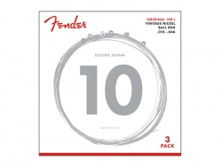 Fender Original 150 Guitar Strings, Pure Nickel Wound, Ball End, 150R | Struny pro elektrické kytary .010