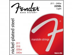 FENDER struny 2250L Mandolin Strings, Nickle Plated Steel | Struny na mandolínu