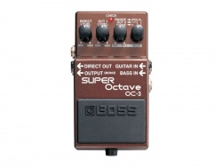 BOSS OC-3 | Octaver, Harmonizer, Pitch Shift