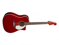 FENDER Sonoran SCE Candy Apple Red v2 | Dreadnought
