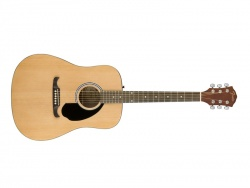 FENDER FA-125 Dreadnought Acoustic, Natural | Dreadnought