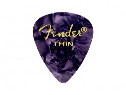 Fender trsátko 351 Premium Celluloid 12 ks Thin Purple Moto | Trsátka