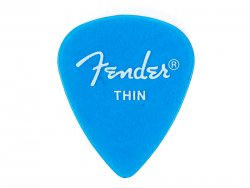 Fender trsátko California Clear Picks 12 ks Thin LPB | Trsátka
