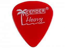 Fender trsátko California Clear Picks 12 ks Heavy CAR | Trsátka