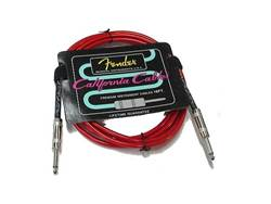 FENDER kabel California Cable Candy Apple Red 10 ft., 3m
