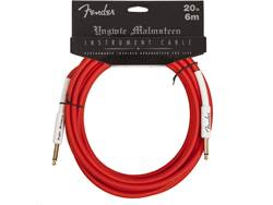 FENDER kabel Yngwie Malmsteen Instrument Cable 6 m red