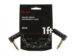 FENDER Deluxe Series Instrument Cable, Angle/Angle, 1', Tweed | Kabelové propojky