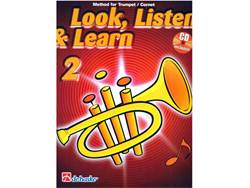 LOOK, LISTEN & LEARN 2 + CD method for trumpet | Školy hry na trubku