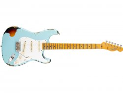 Fender Custom Shop Ltd HVY REL Mischief Maker MN, Daphne Blue
