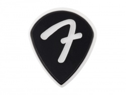 Fender F Grip 551 Picks, Black, 3 Pack | Trsátka