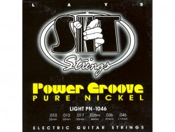 SIT PN 1046 struny elektrická kytara Power Groove Light Pure Nickel