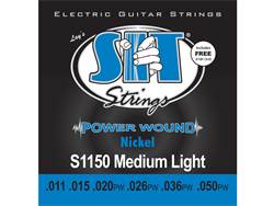 SIT S1150 struny elektrická kytara Power Wound Medium Light