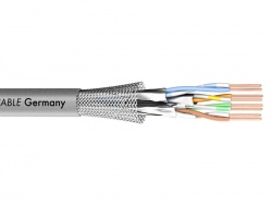 Sommer Cable 581-0076 MERCATOR CAT.7 PUR - šedý