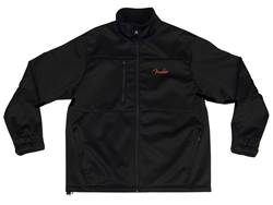 FENDER bunda LS Fleece Lined Black vel. L | Mikiny