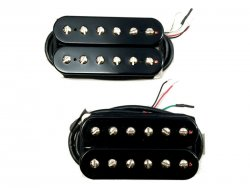 Bare Knuckle Juggernauts open bridge Humbucker Black