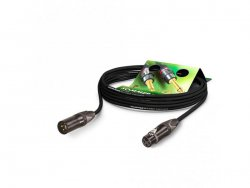 Sommer Cable CSMF-0300 CLUB BLACK ZILK - kabel 3m | 3m