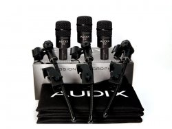 Audix D2 Trio - Promo Pack set mikrofonů