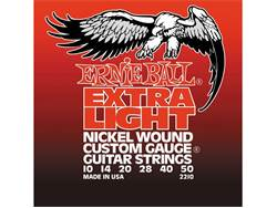 Ernie Ball 2210 Extra Light Electric Nickel Wound .010 - .050 | Struny