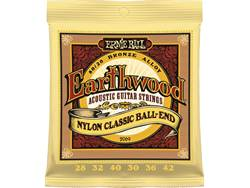 Ernie Ball 2069 - Earthwood Nylon Classic Ball-End