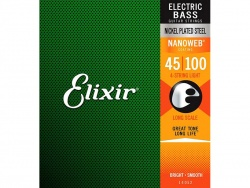 ELIXIR 14052 Electric Bass Strings NW - 45-100