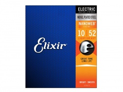 ELIXIR 12077 Electric Guitar Strings - .010/52