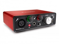 Focusrite Scarlett Solo-2G | Zvukové karty, Audio Interface