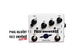 Majik Box Fuzz Universe Paul Gilbert Custom | Overdrive, Distortion, Fuzz, Boost