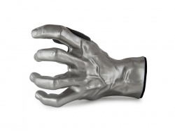 Guitar Grip držák na kytaru MALE PEWTER L Silver Antique