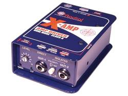 Radial X-Amp aktivní class-A re-amping box | Reamp
