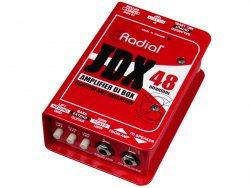 Radial JDX 48 - Guitar Amp DI Box, speaker emulator