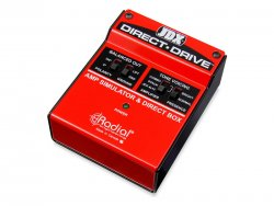 Radial JDX Direct Drive Amp Simulator | Power brake a Speaker simulátory
