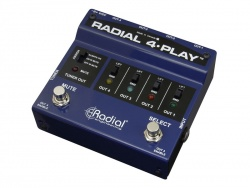 Radial 4-Play Multi-Output DI Box