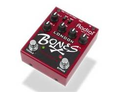 Radial BONES London dual distortion, kytarový efekt