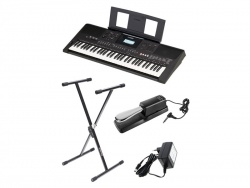 YAMAHA PSR E463 keyboard - SET 1